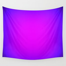 Fuchsia Purple Blue Focus Wall Tapestry