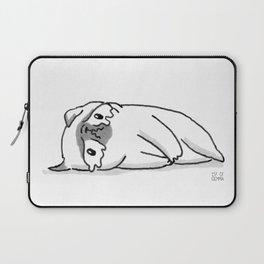 Sad Mochi the pug Laptop Sleeve