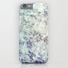 Marble blue iPhone 6 Slim Case