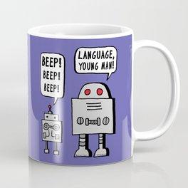 Beeping Robot Coffee Mug