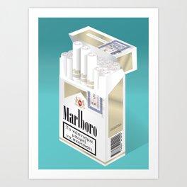 Smokes Art Print