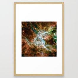 Tarantula Nebula Framed Art Print