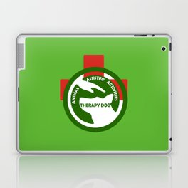 Animal Assisted Activities  - THERAPY DOG logo 2 Laptop & iPad Skin