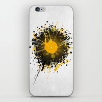 paramore iPhone & iPod Skins featuring Don't Destroy the Vinyl by Sitchko Igor