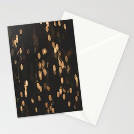 Christmas Lights Stationery Cards