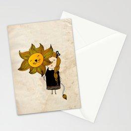 Leo Girl Stationery Cards