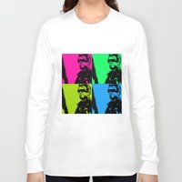terminator Long Sleeve T-shirts featuring Terminator by Bolin Cradley Art