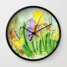 Magic Iris Wall Clock