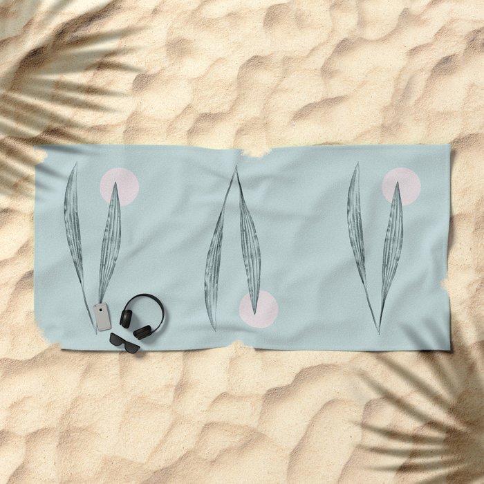 filo di vento Beach Towel
