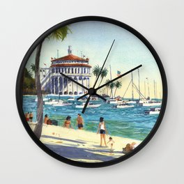 Avalon, Catalina Island Wall Clock