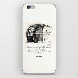 Booth iPhone Skin