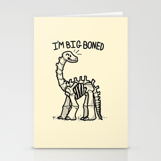 Big Boned Stationery Cards