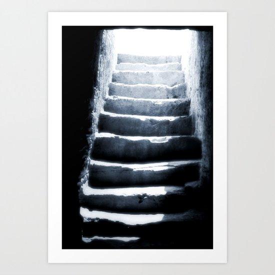 Light Step Art Print