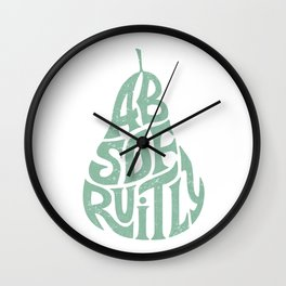 Absofruitly Wall Clock