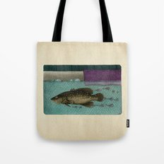 A Trail of Bubbles Tote Bag