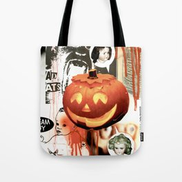 COLLAGE: Halloween Tote Bag