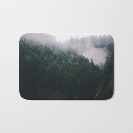 Forest Fog V Bath Mat