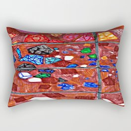 Gem Excavation Rectangular Pillow