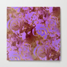 Surreal roses with weird attitude Metal Print