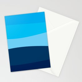Blue view Stationery Cards