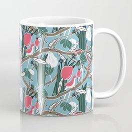 Hiding Birds Pink Coffee Mug