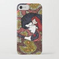 depression iPhone & iPod Cases featuring Depression Repression by Danielle Quackenbush