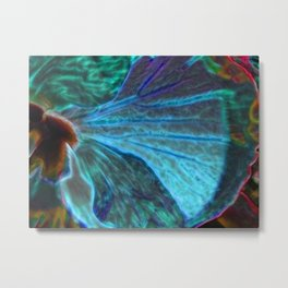 Biomimicry - Nature and Technology - Hybrid Nature Metal Print