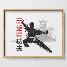 Kung Fu Serving Tray