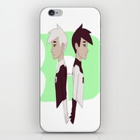 danny ivan iPhone & iPod Skins featuring Danny by Dante Blue