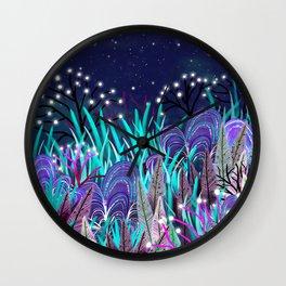 Plantes extraterrestres Wall Clock