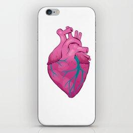 Hearts 01 - Human Heart (Transparent) iPhone Skin
