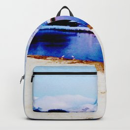 Corpach Sea loch, Highlands of Scotland Backpack