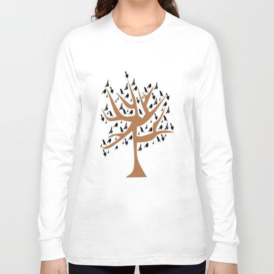 Bird Tree Long Sleeve T-shirt