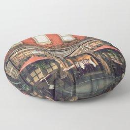 New York City Floor Pillow