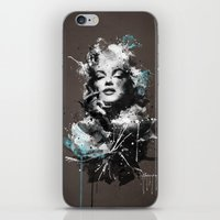 marilyn iPhone & iPod Skins featuring Marilyn. by Emiliano Morciano (Ateyo)