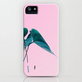 Pink Plant iPhone Case