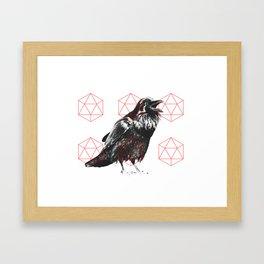 Sacred Raven Framed Art Print