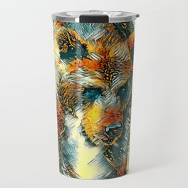 AnimalArt_Bear_20170603_by_JAMColorsSpecial Travel Mug