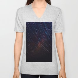 The Galaxy Rains (Color) Unisex V-Neck