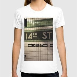 14th Street Station T-shirt
