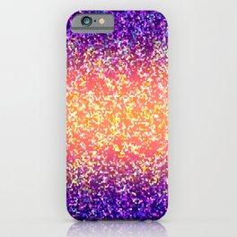 Glitter Graphic Background G106 iPhone Case