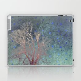 Blue Stars Falling Laptop & iPad Skin