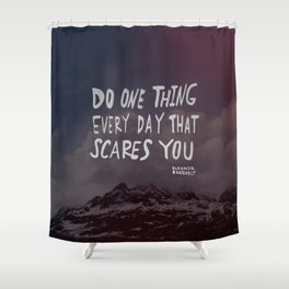 Scare Shower Curtain