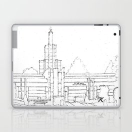 The Hague Netherlands LDS Temple Laptop & iPad Skin