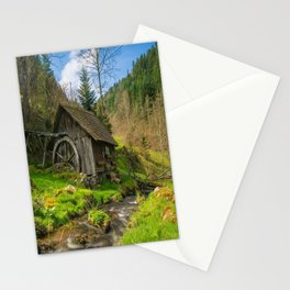 Watermill Life in the Country Stationery Cards