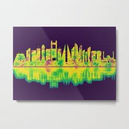Manama Bahrain Skyline Metal Print