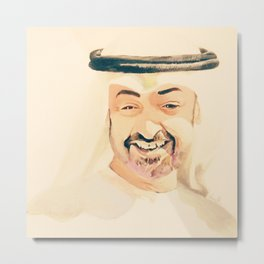 sheikh Mohammed bin zayed design art Metal Print