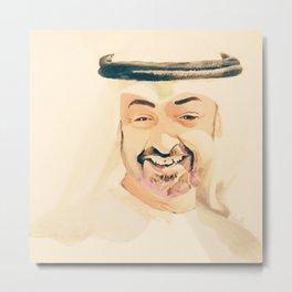 sheikh Mohammed bin zayed design art Metal Print
