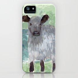 Three Legged Cow iPhone Case