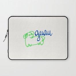 Guau - a dog Laptop Sleeve